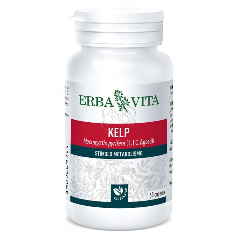 Alga Kelp (60 Opercoli) Erba Vita - Dimagranti, Sovrappeso