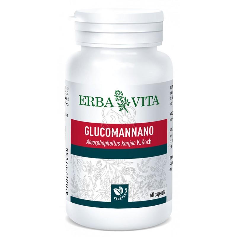Glucomannano (60 Capsule) Erba Vita - Sazianti, Antifame