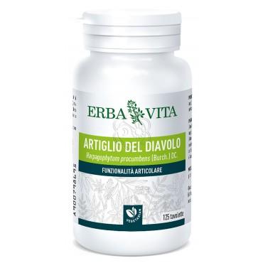Artiglio del diavolo (125 Tavolette da 400 mg) Erba Vita - Reumatismi, Dolori Articolari