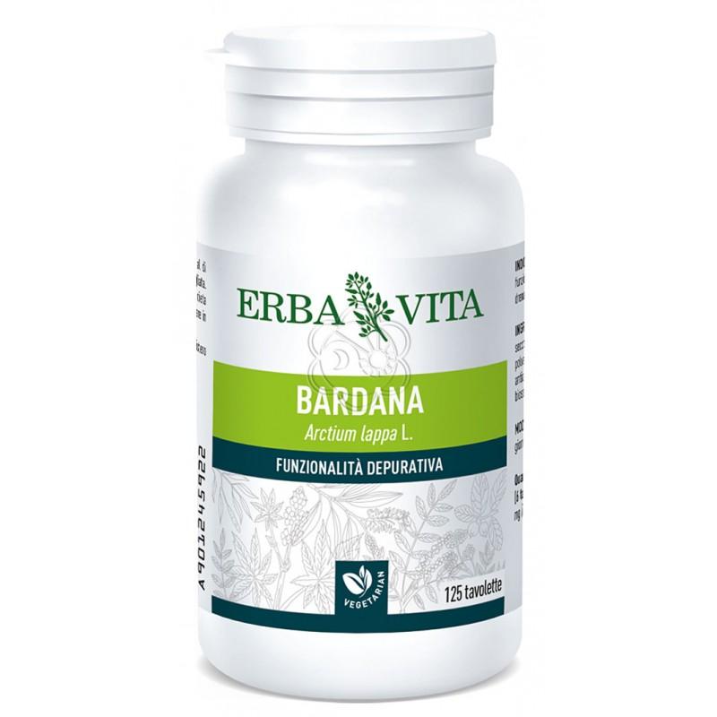 Bardana (125 tavolette) Erba Vita - Acne