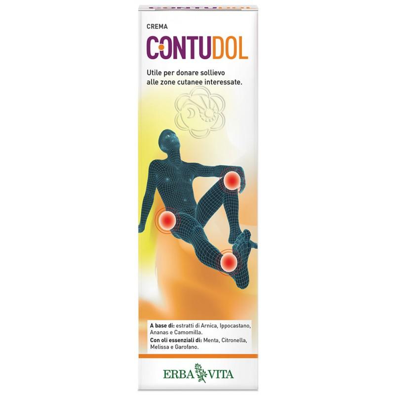 Contudol Crema (75 ml) Erba Vita - Traumi e Contusioni