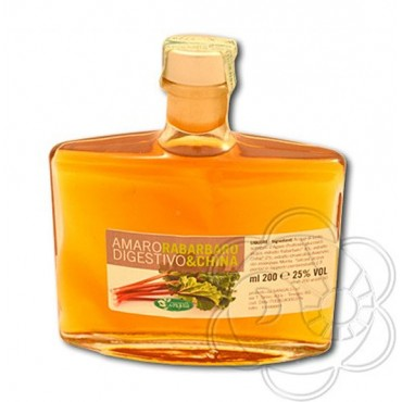 Amaro Digestivo China e Rabarbaro (200 ml) Sangalli - Amaro