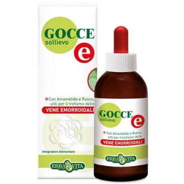 Gocce Sollievo E - Vene Emorroidali (50 ml) Erba Vita - Emorroidi