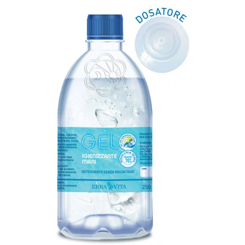 Gel Igienizzante Mani (250 ml) Erba Vita - Profilassi Coronavirus