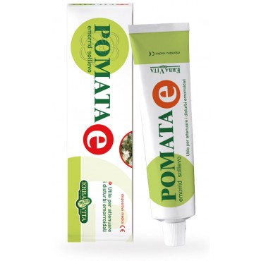 Pomata E Sollievo (50 ml) Erba Vita - Pomata Antiemorroidale