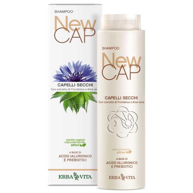 Shampoo Capelli Secchi NewCap (200 ml) Erba Vita