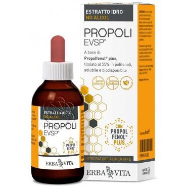 Propoli Estratto Idro No Alcol evsp (30 ml) Erba Vita - Estratto Acquoso di Propoli