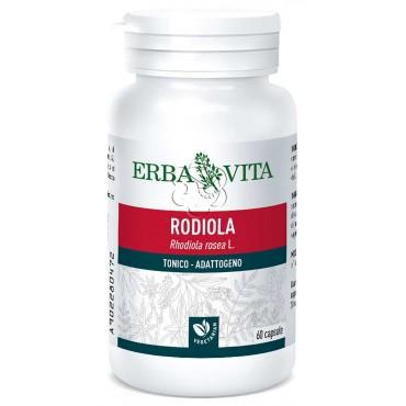Rodiola - Rhodiola rosea (60 Capsule) Erba Vita - Stress, Umore, Depressione