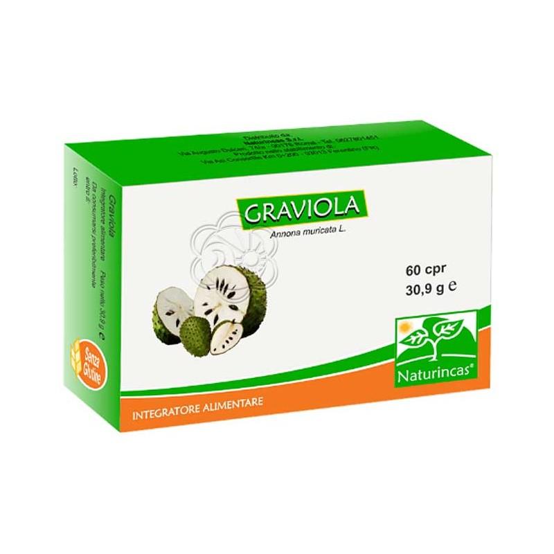 Graviola Compresse - Naturincas (60 compresse) Prevenzione Cancro