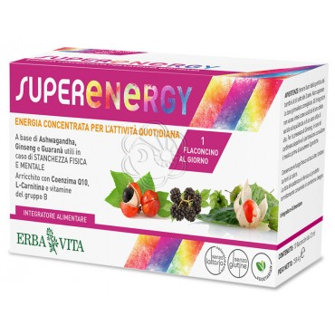 Super Energy (10 Flaconcini da 12 ml) Erba Vita