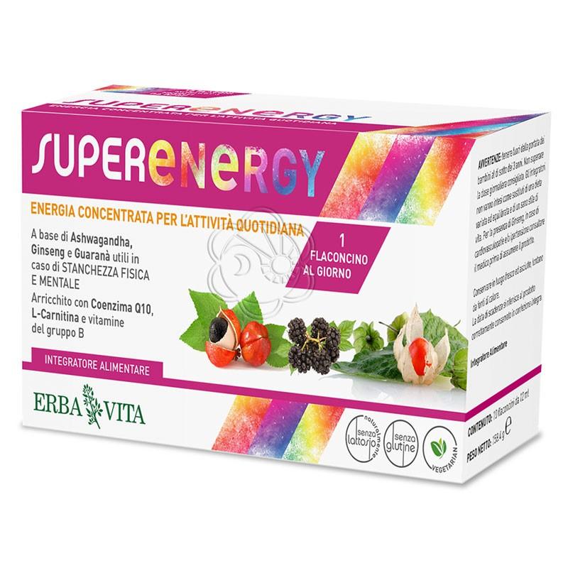 Super Energy (10 Flaconcini da 12 ml) Erba Vita