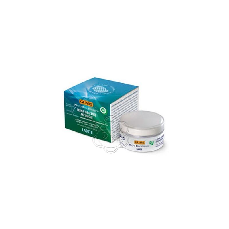 Crema Idratante Antirughe Micro Biocellulaire con Estratti Biologici Certificati (50 ml) Guam Lacote - Cosmesi