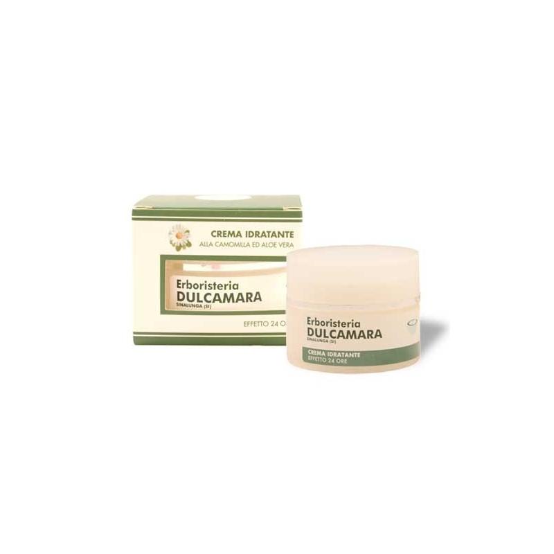 Crema Idratante Camomilla ed Aloe vera (50 ml) Linea Erboristeria Dulcamara - Cosmesi