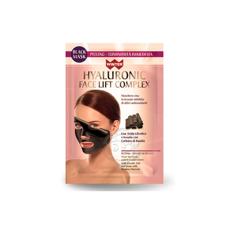 Maschera Viso Peeling Acido Glicolico Face Lift Complex (1 Maschera Monouso) Winter - Cosmesi