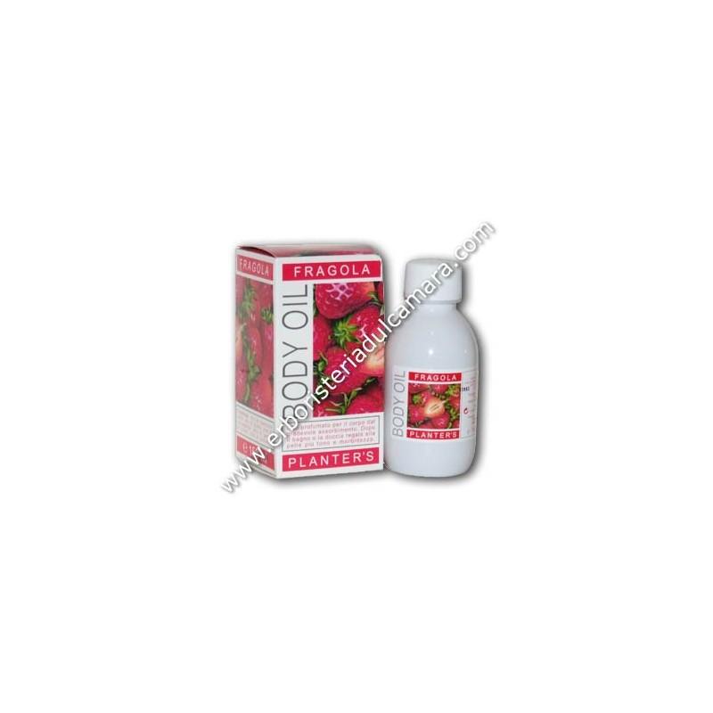 Olio Corpo Fragola Body Oil (150 ml) Planters - Cosmesi