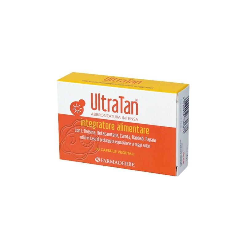 Abbronzante Ultra Tan Capsule (30 Capsule) Farmaderbe - Abbronzanti